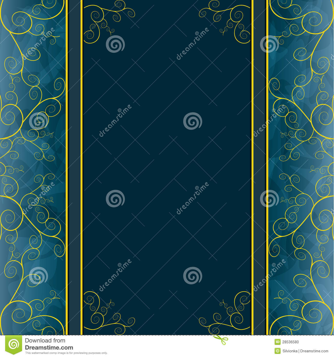 Vintage Background, Greeting Card, Cover, Menu Stock Photo