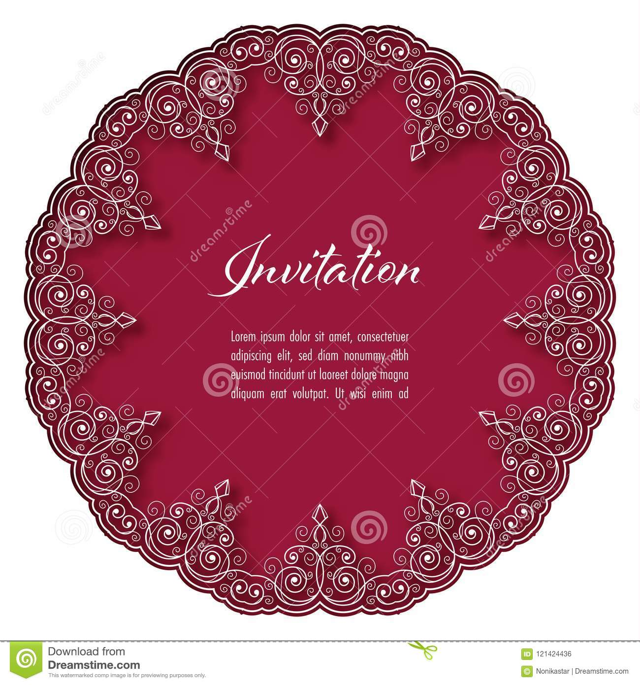 Perfect Lace Wedding Invitations Cheap Mold - Invitations and ...