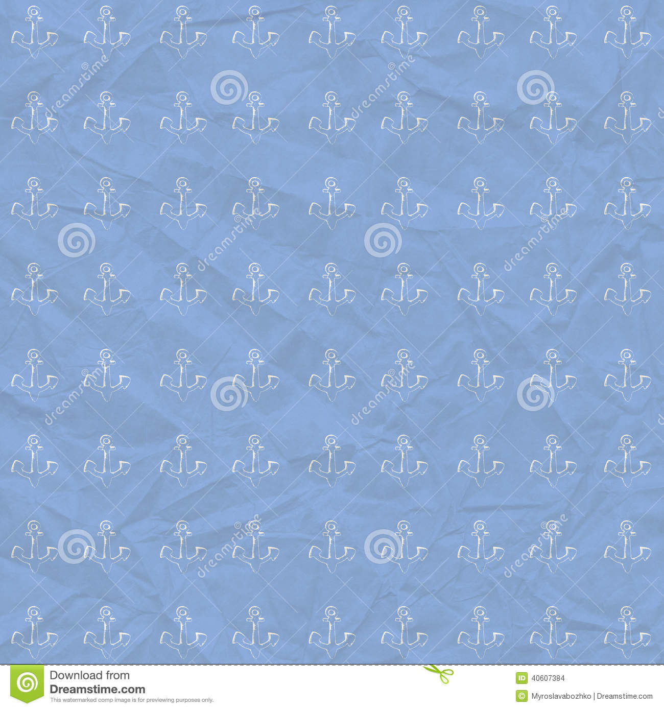 Vintage Background In Nautical Style Stock Illustration ...