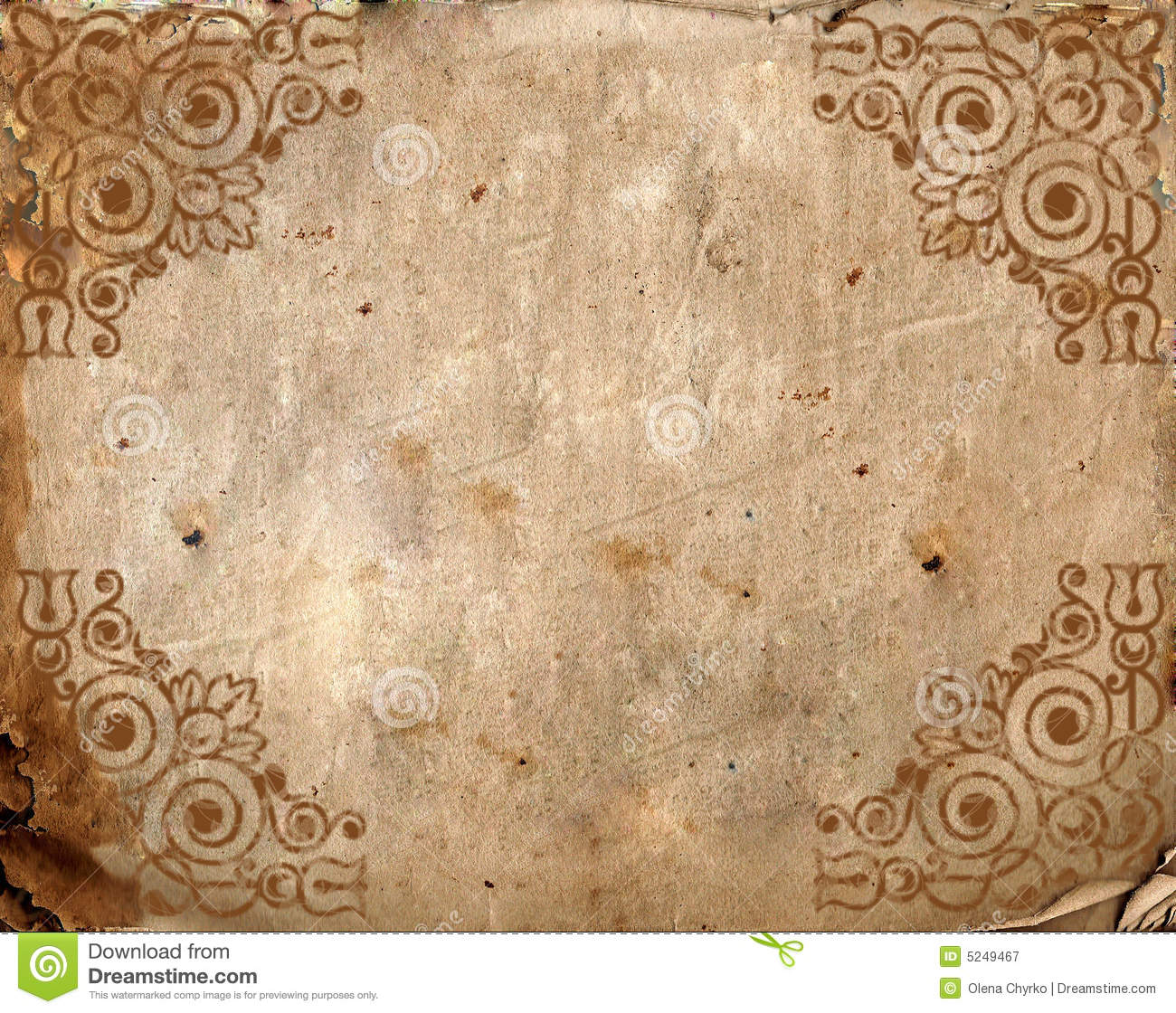 Vintage Background Old Paper Royalty Free Stock