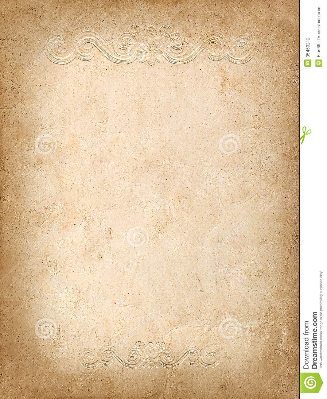 Vintage Background From Old Paper With Embossed Pattern ...