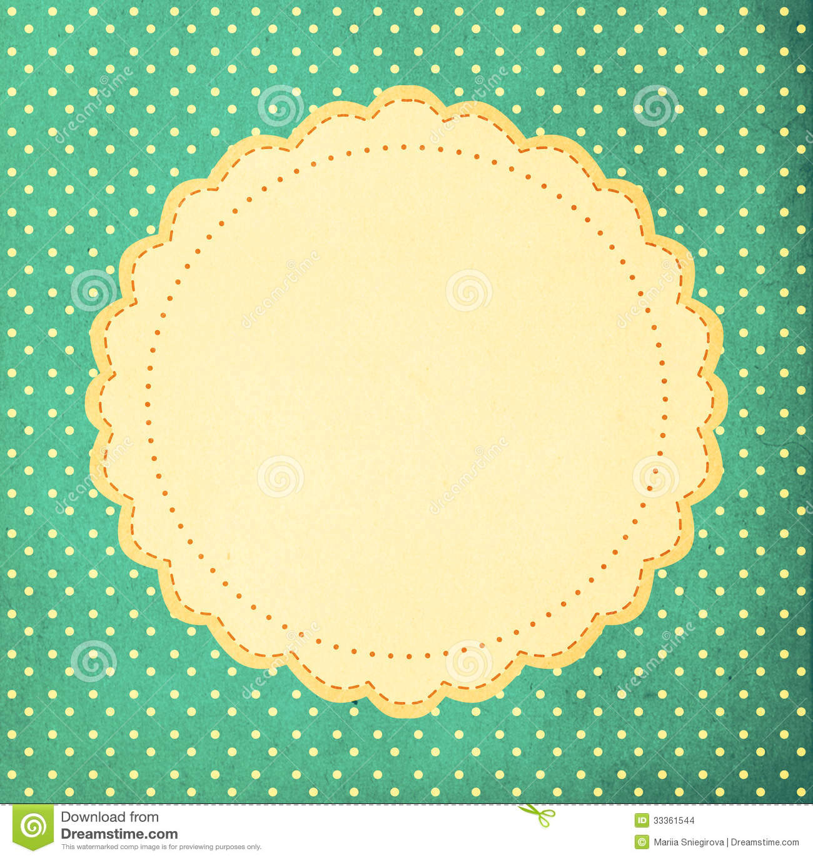 vintage background polka dot style stock images image