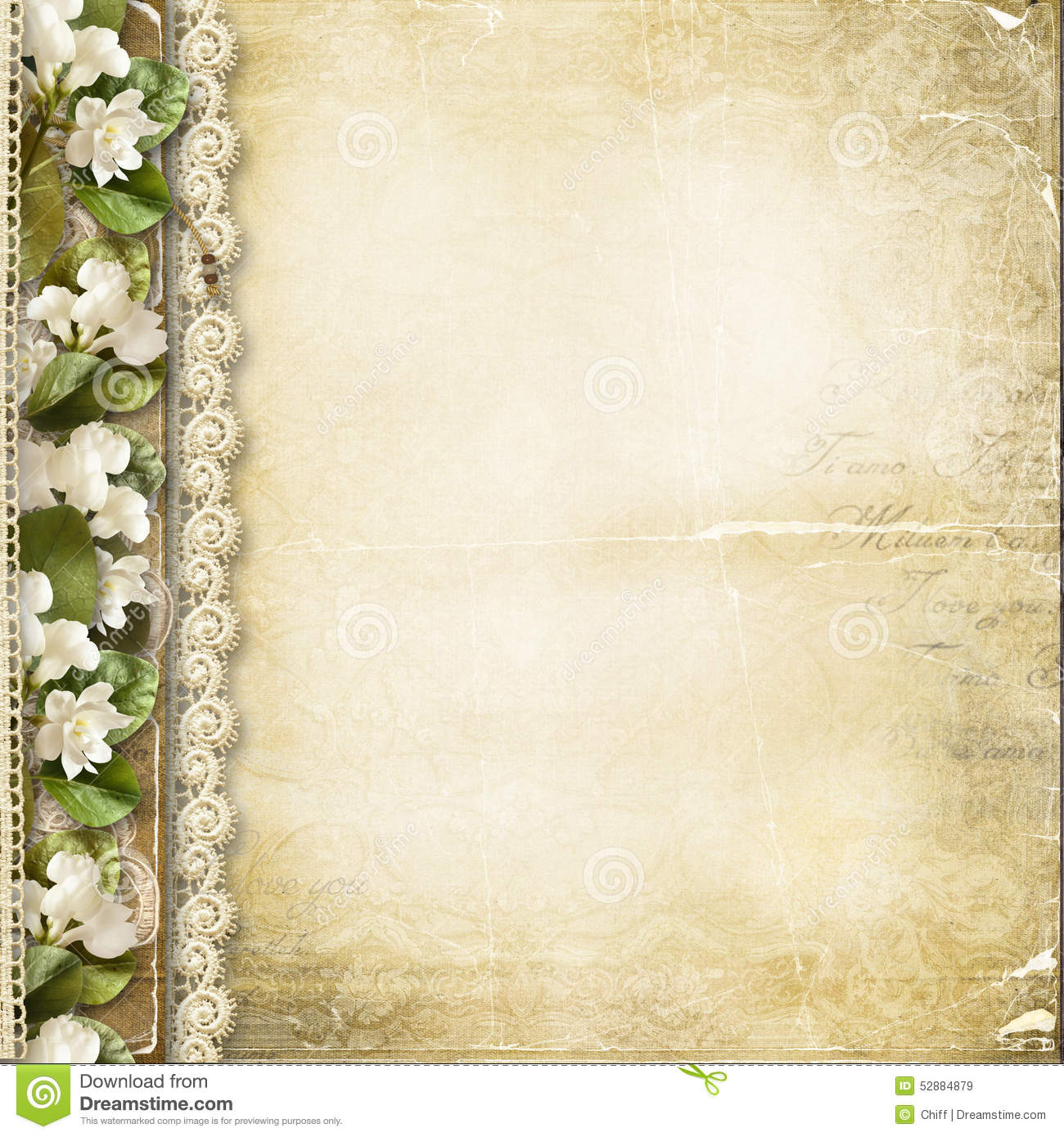 Vintage Flower Book Cover : Photo book album background hd topbackground
