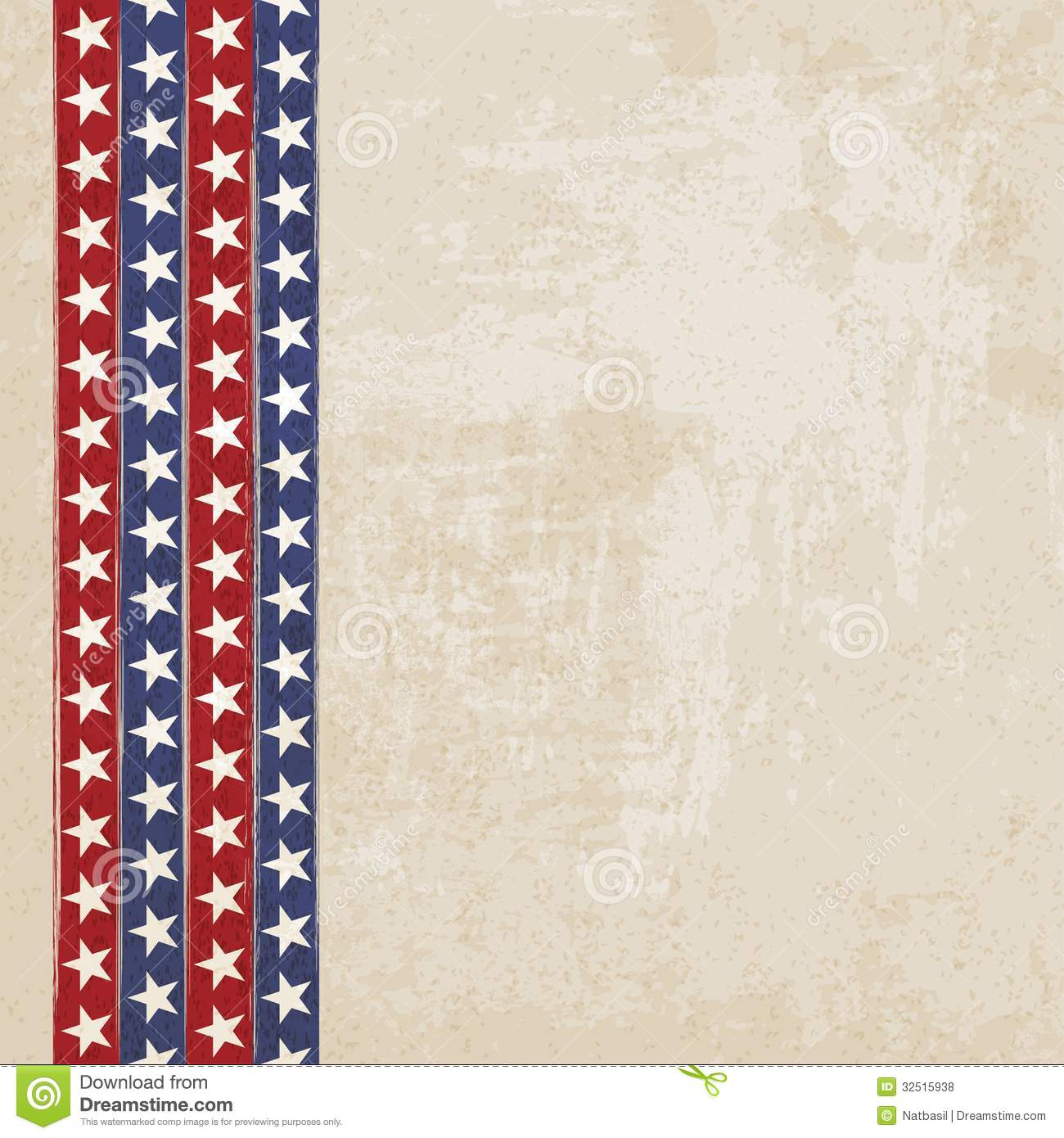 Americana Background Vintage background withVintage Americana Background
