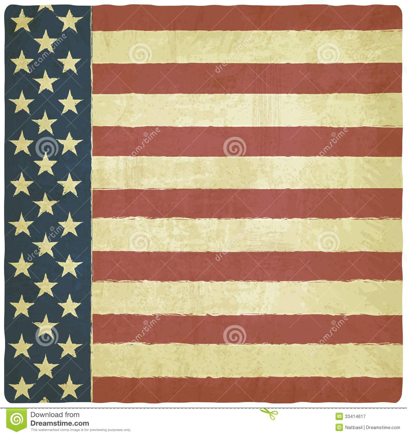 Vintage Americana Background Vintage background withVintage Americana Background