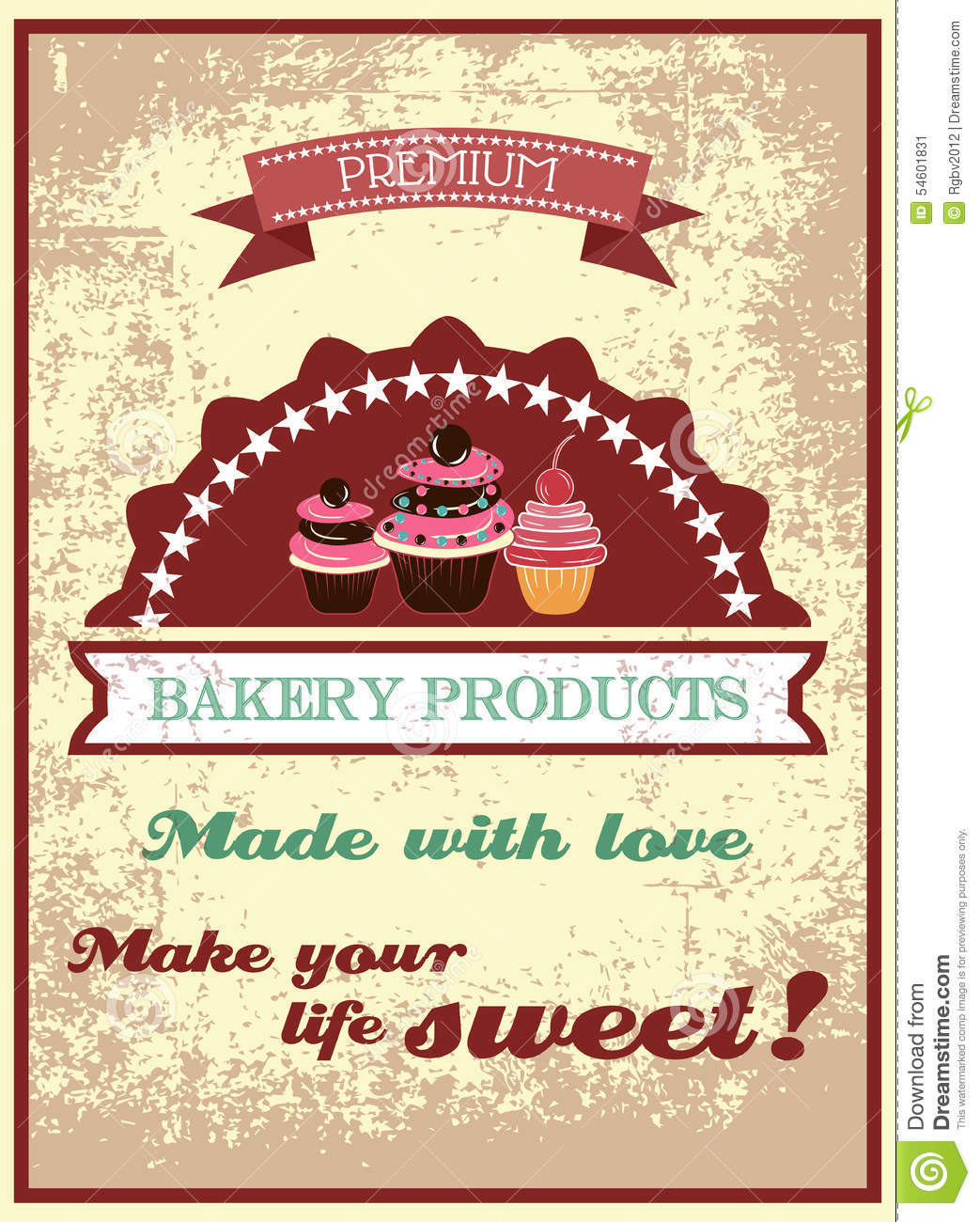 Old Fashioned Bakery Cakes