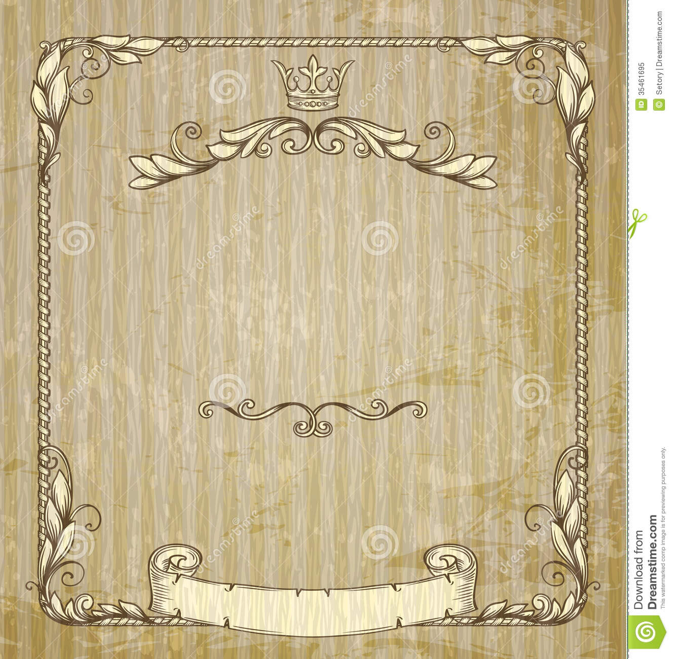 Vintage banner stock vector illustration of graphic 35461695 vintage banner graphic fantasy yelopaper Gallery