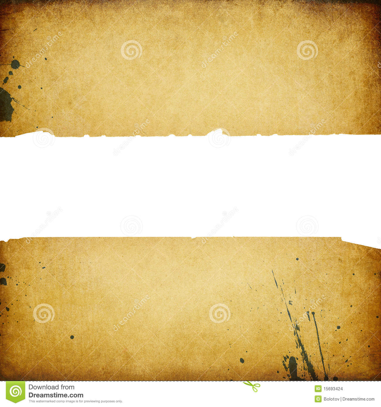 More similar stock images of vintage banner with torn edges
