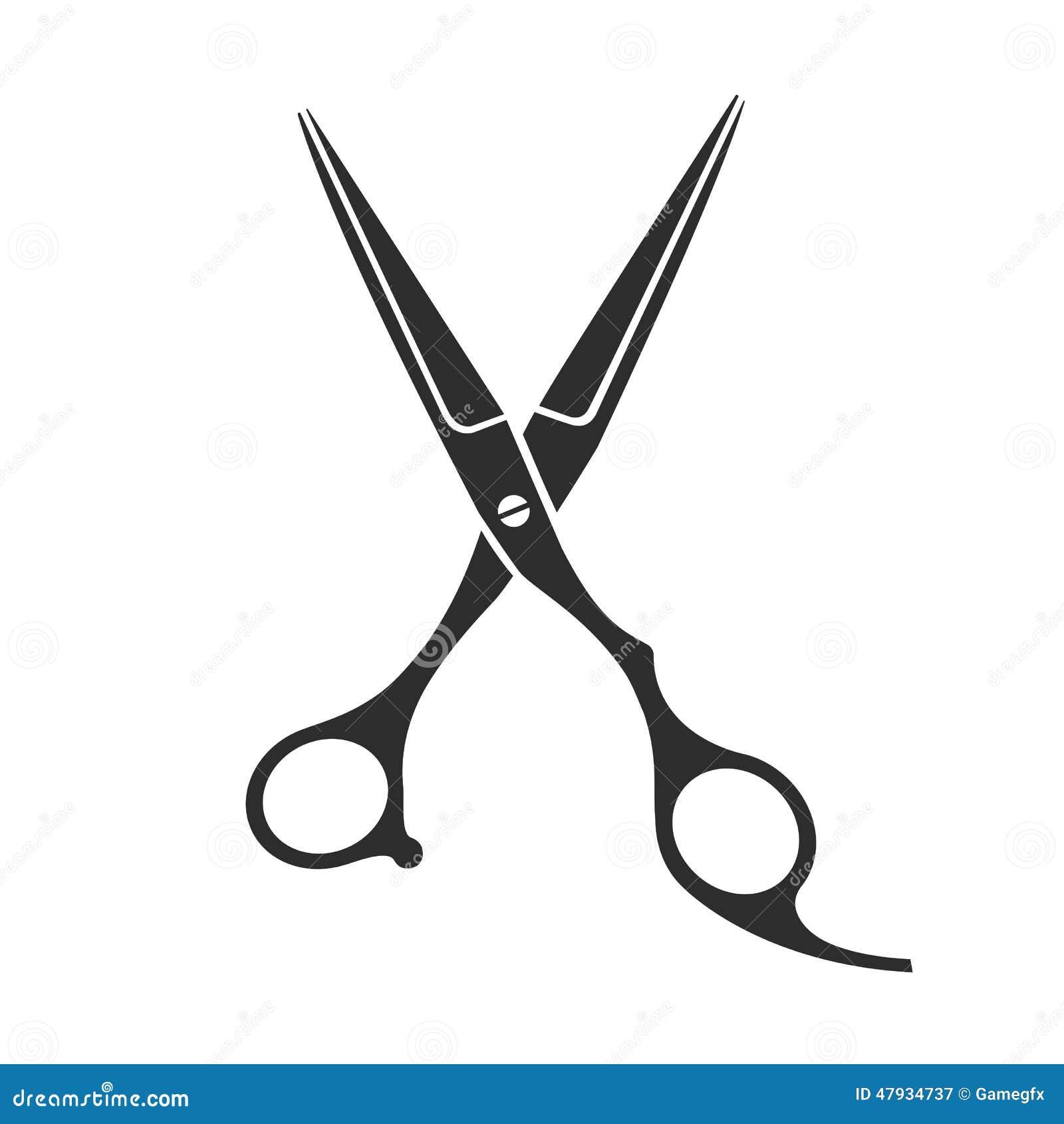 vintage barber shop scissors stock vector image 47934737 barber pole clip art color barber pole clip art blue red white