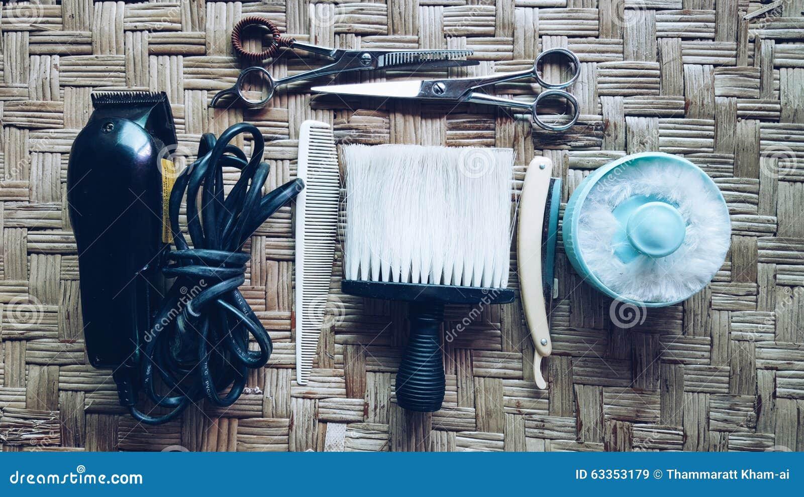 Vintage Barbershop Stock Image Image Of Local Scissors
