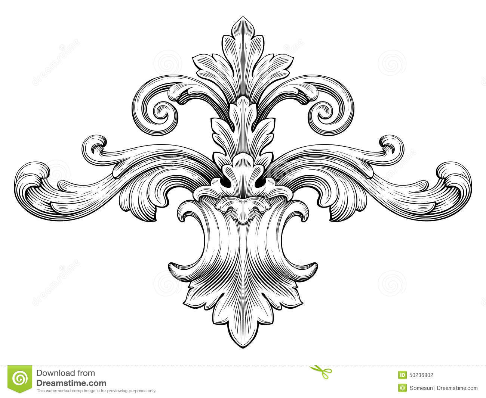Рисунки в стили барокко