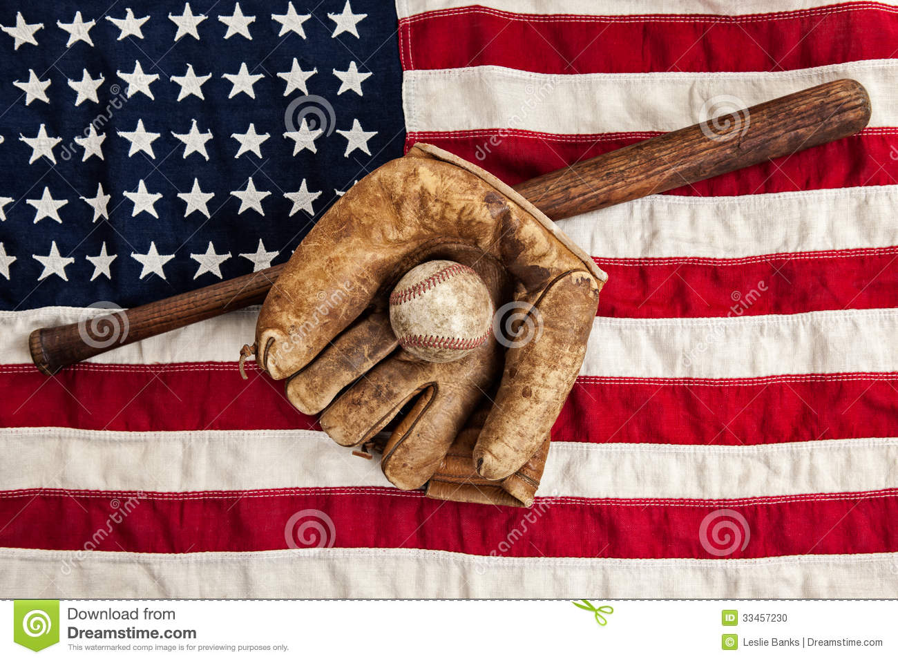 Vintage baseball stock photo image of objects baseball for Classic american images