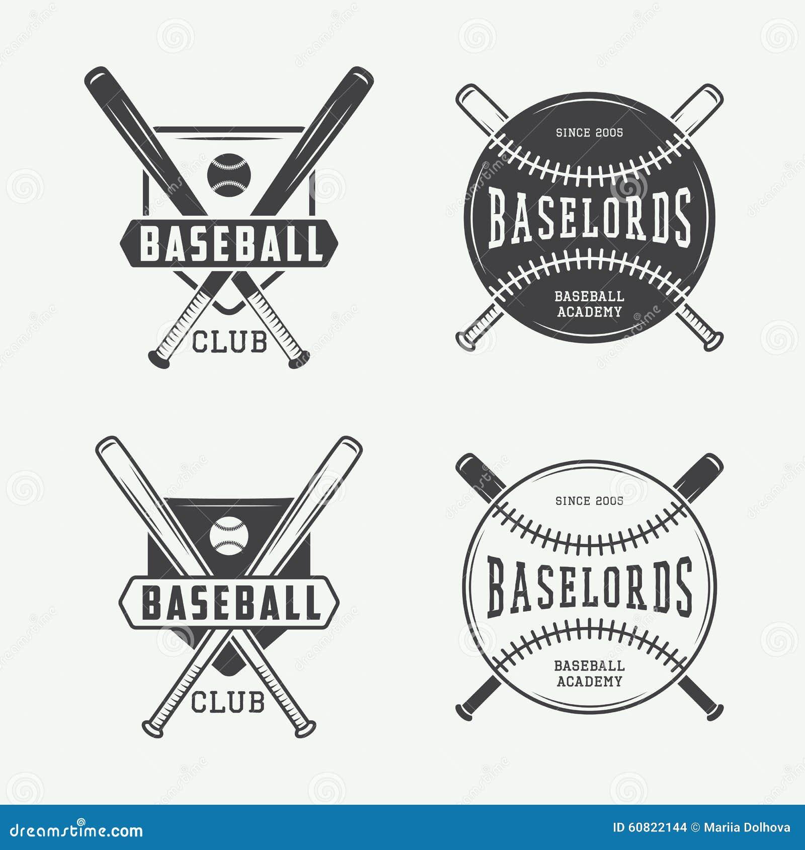 Vintage Baseball Logos 63