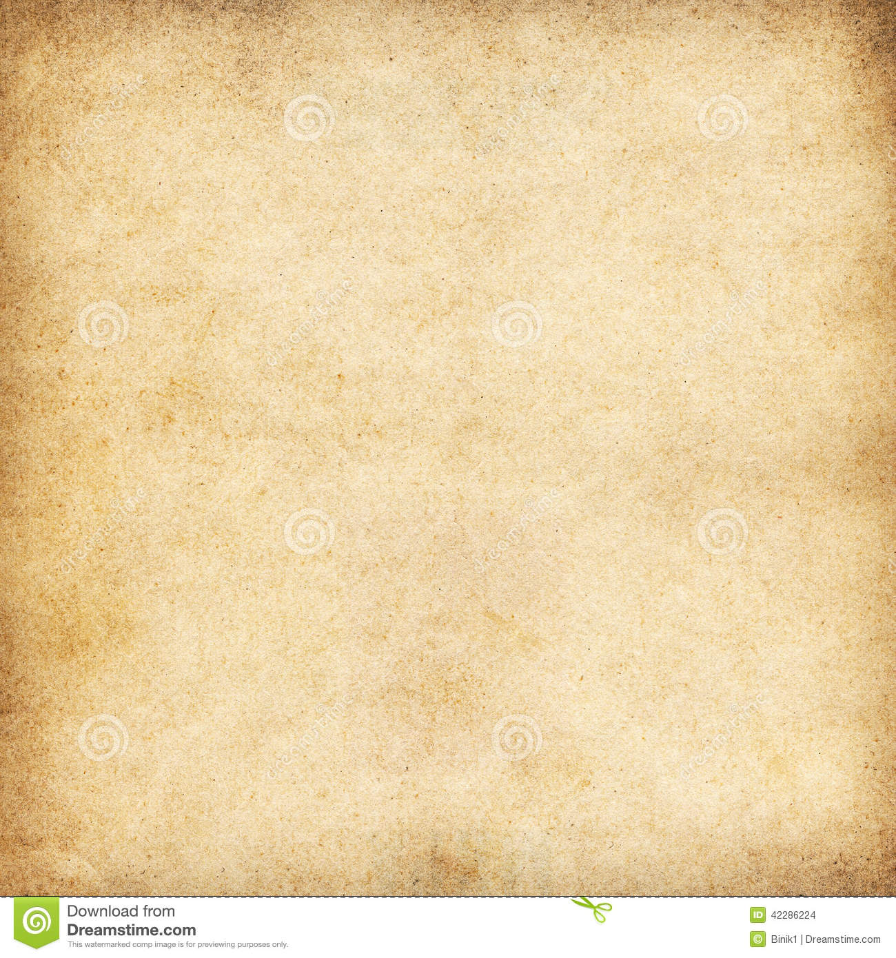 Vintage Beige Paper Texture Or Background Stock