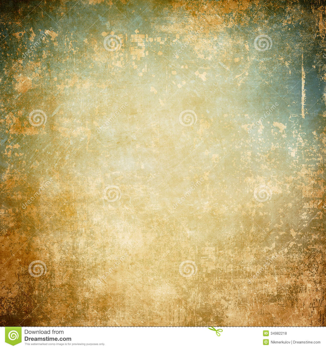 Vintage Beige Texture Stock Illustration Illustration Of