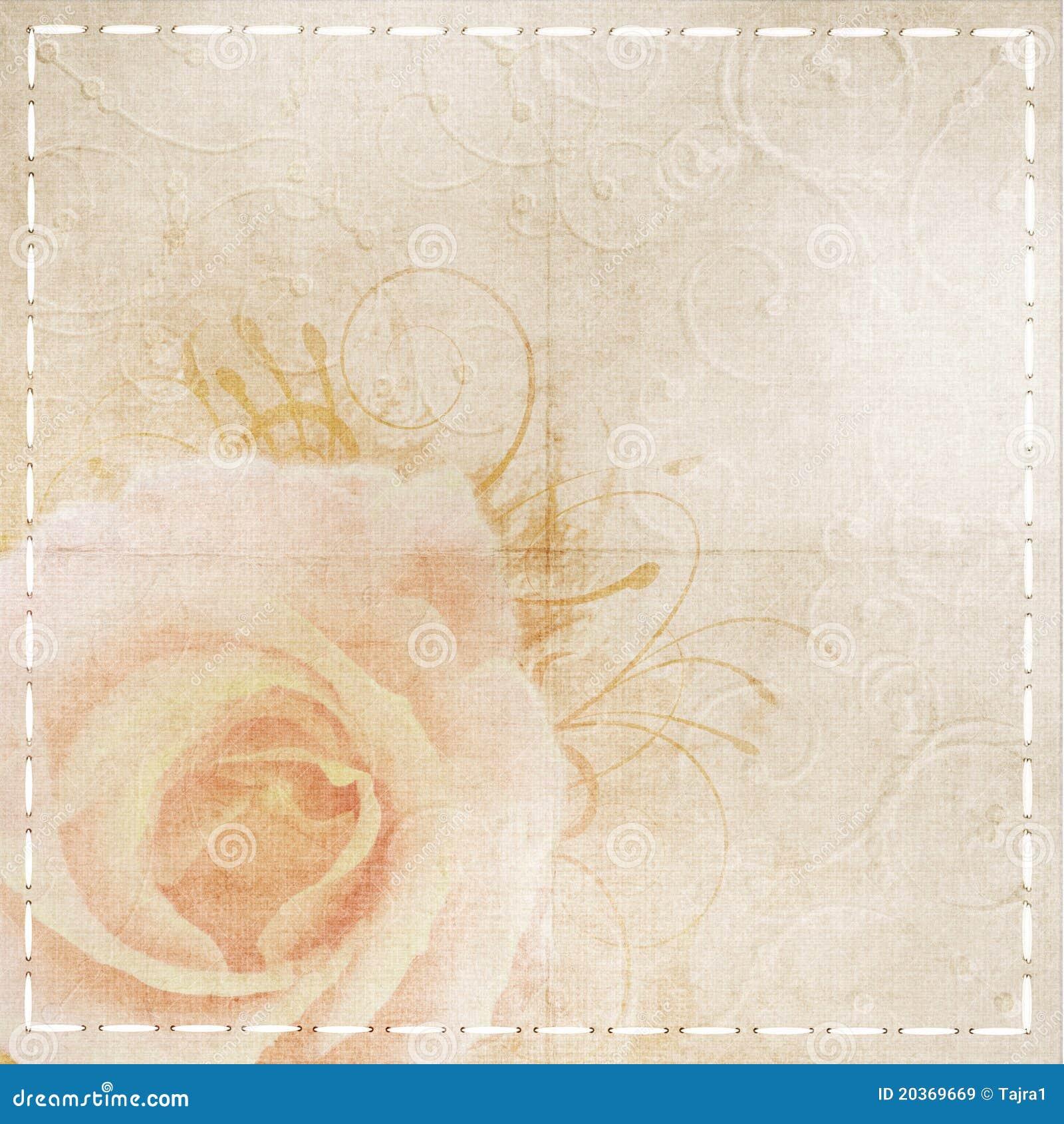 Vintage Beige Wedding Background Royalty Free Stock Images - Image ...