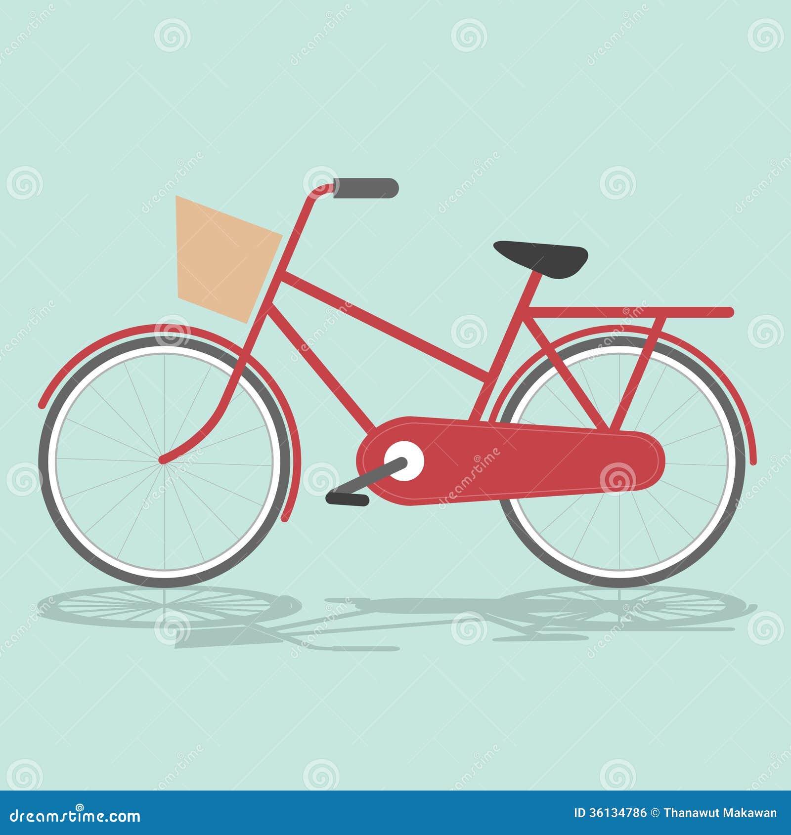 Vintage bicycle royalty free stock image image 36134786 for Illustration minimaliste