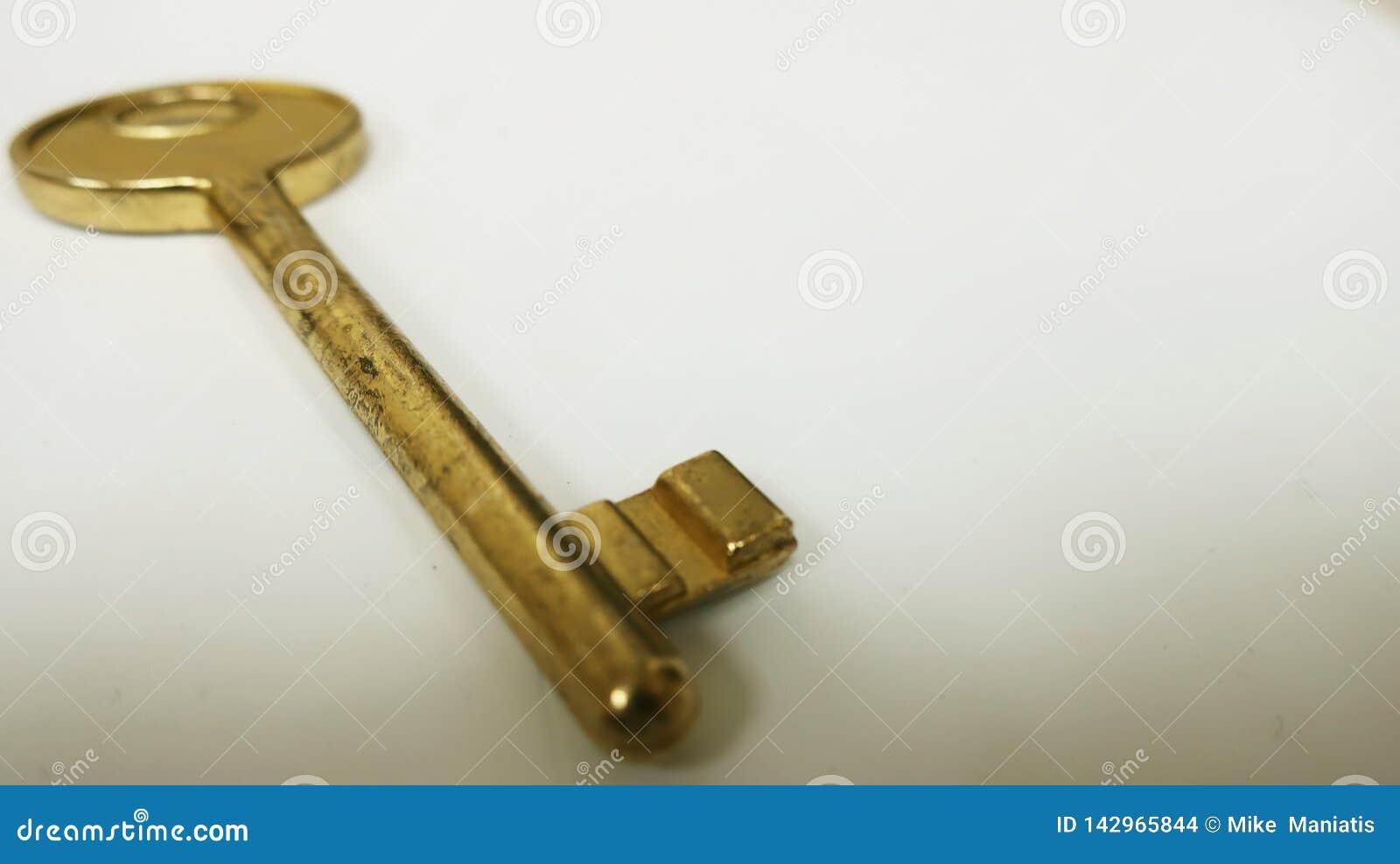 Vintage Big Gold key
