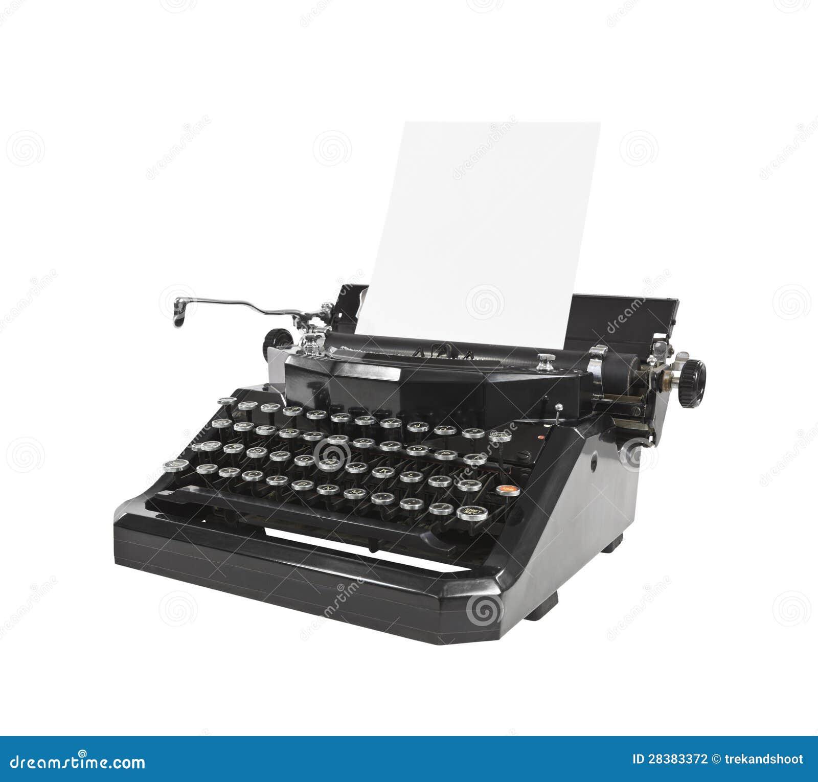 Vintage Black Typewrit... Vintage Typewriter Paper Photography