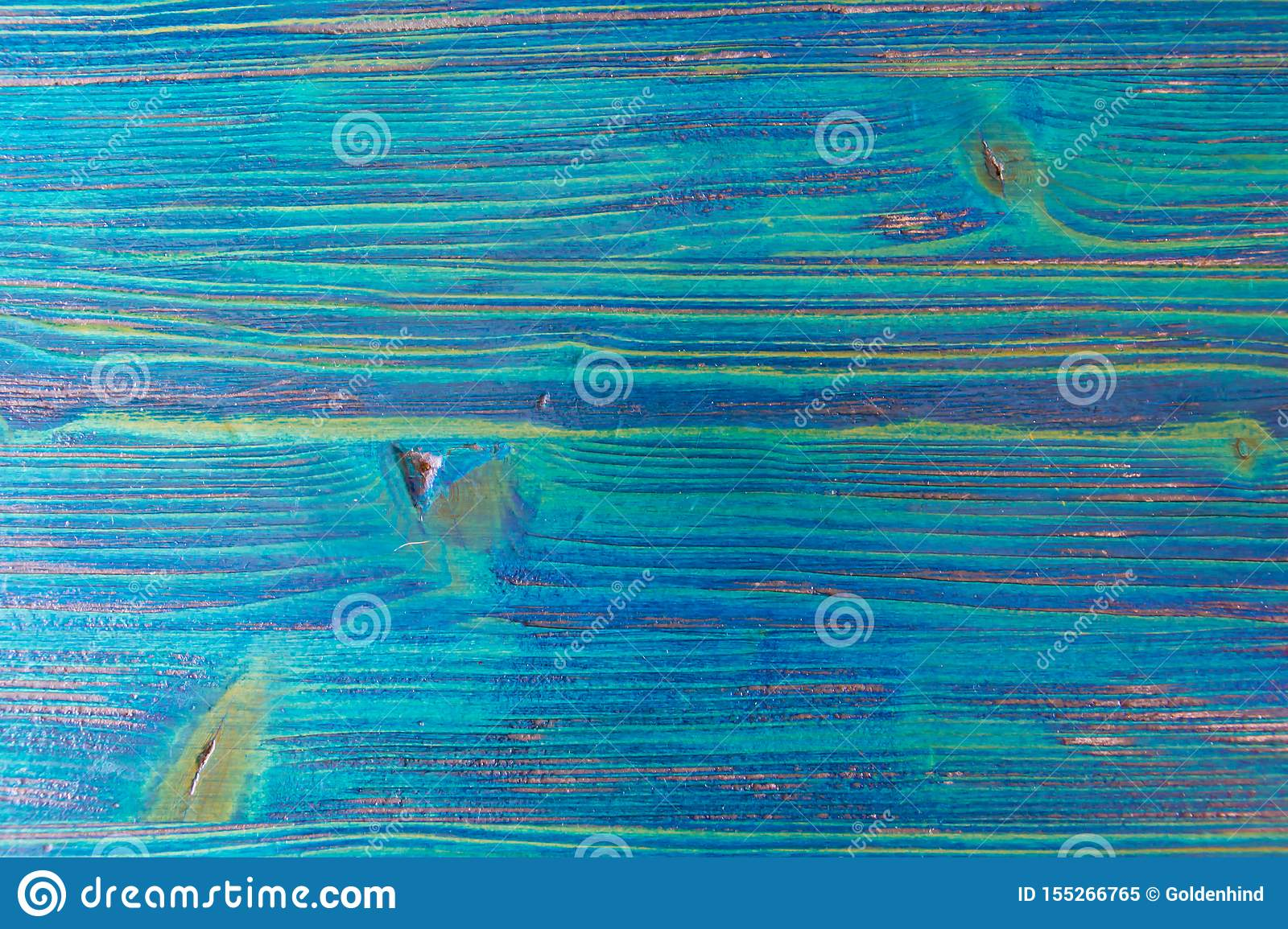 Vintage blue wood background texture with knots and natural patterns. Blue abstract background