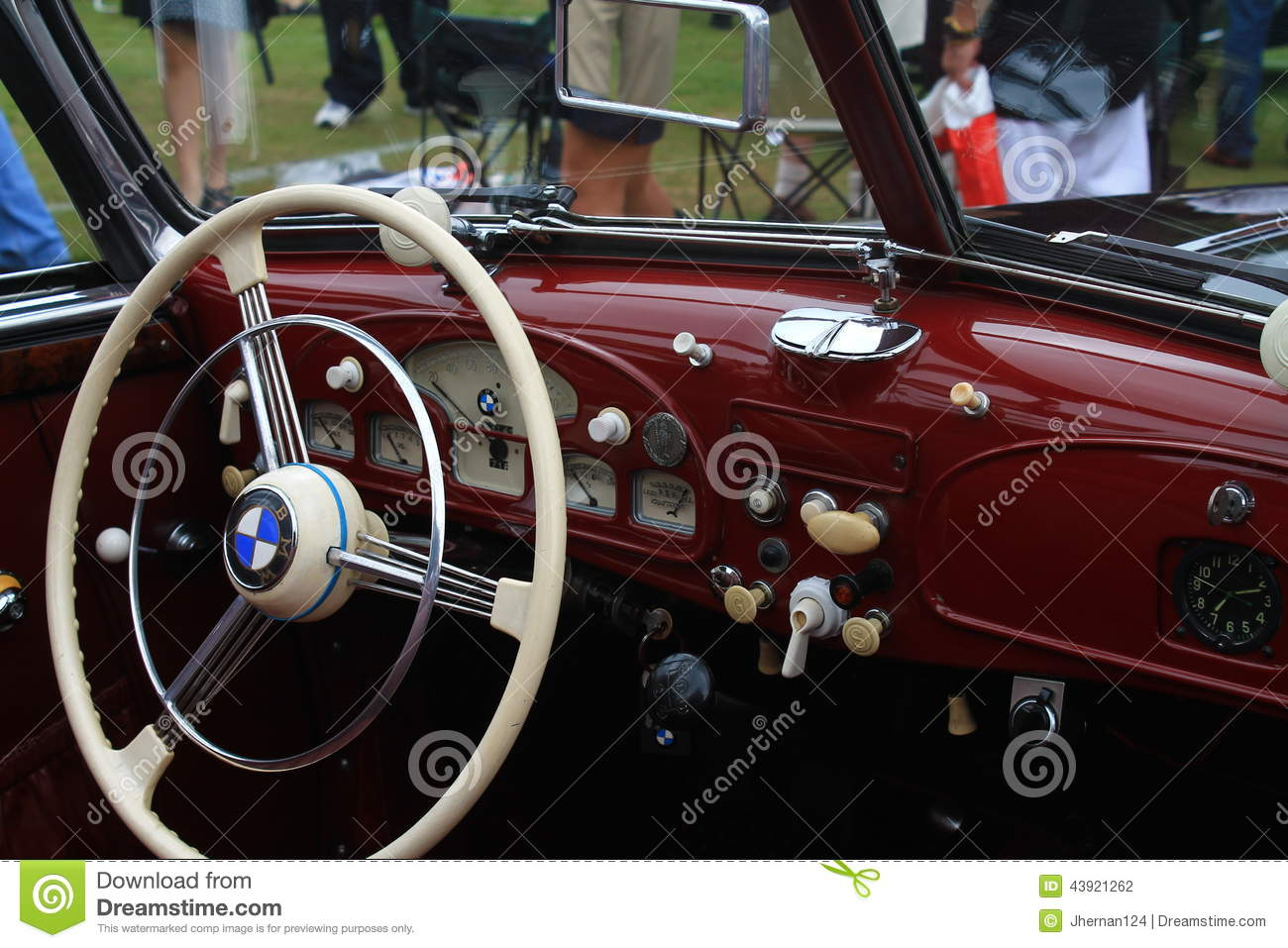 vintage bmw sports car interior editorial photography image 43921262. Black Bedroom Furniture Sets. Home Design Ideas