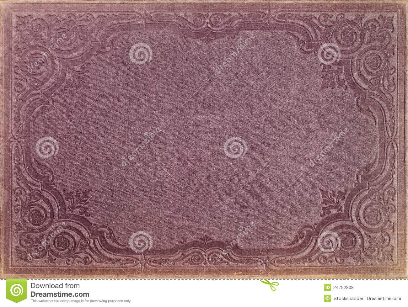 Book Cover Images Royalty Free : Vintage book cover stock photo image of ornaments frame