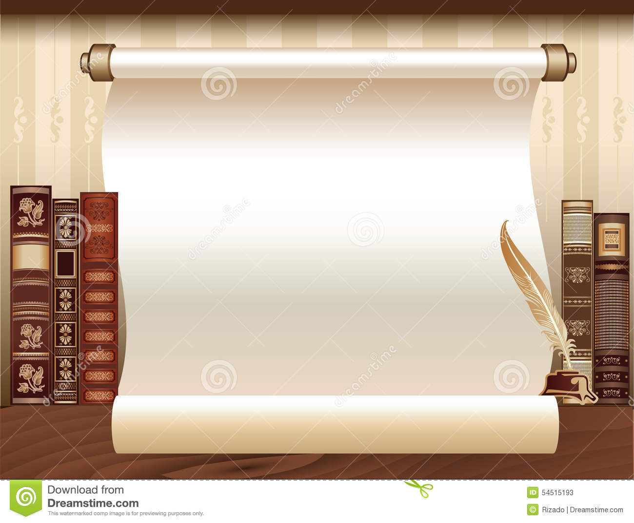 vintage book template stock vector illustration of backdrop 54515193