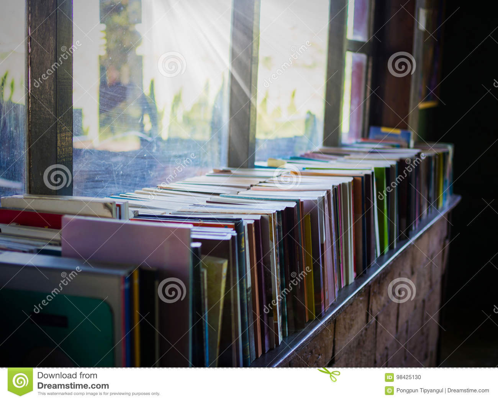 Vintage Books On Bookshelf Download Preview
