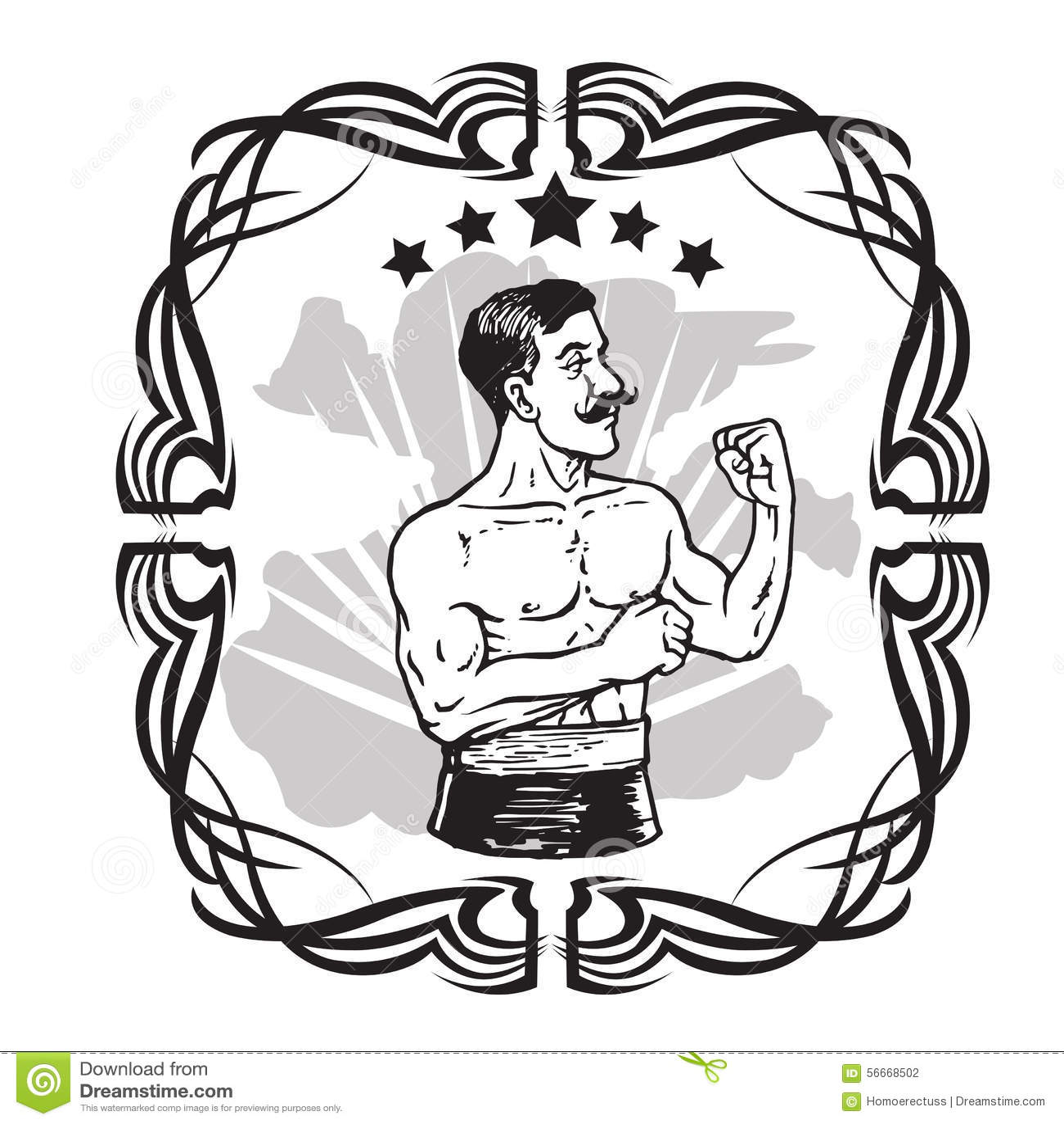 Images de boxe vintage
