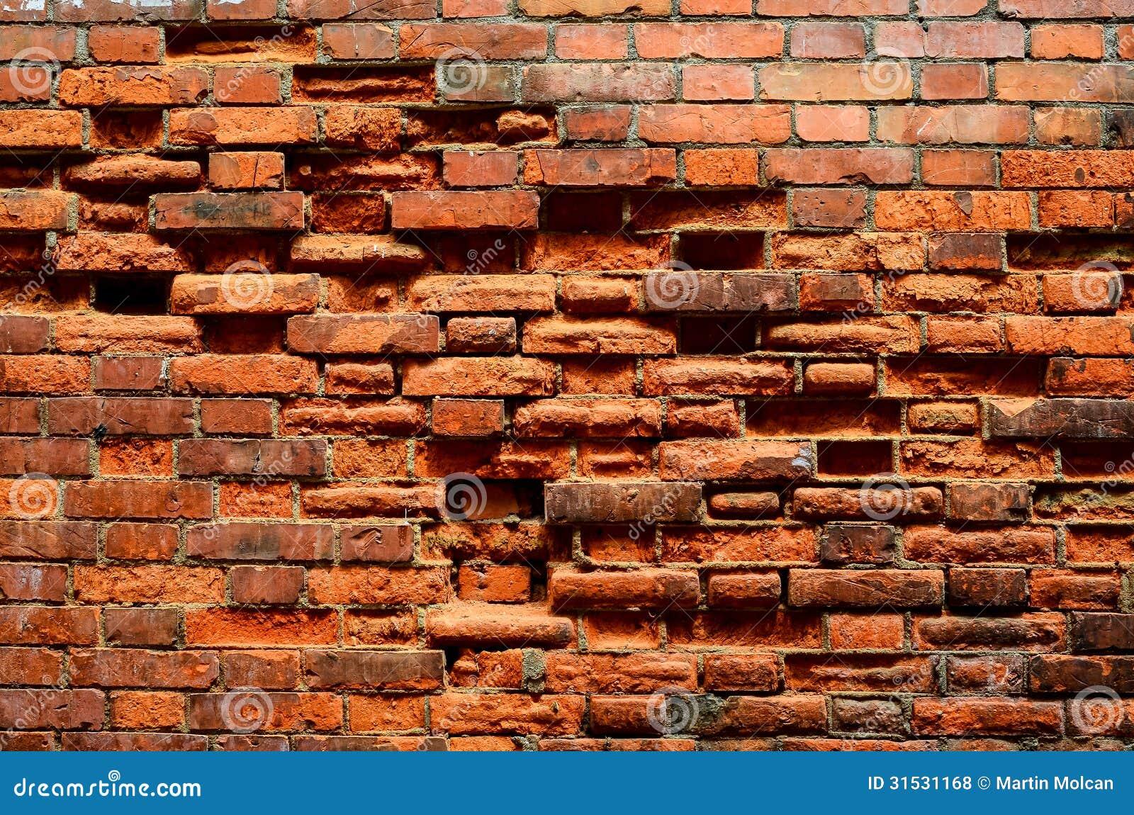 Vintage Brick Wall Texture Royalty Free Stock Photos
