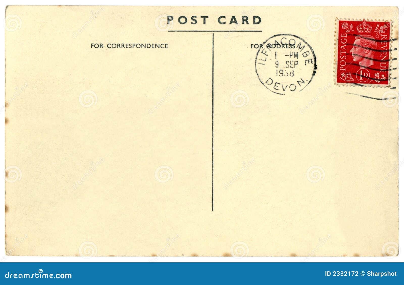Italian handwritten postcard letter stock photo image 39254147 - Blank Postcard With Stamp Blank Postcard Stamp Stock Photos Images