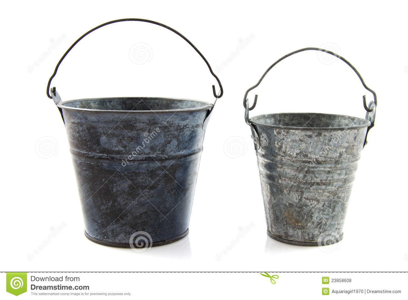 Vintage Bucket Royalty Free Stock Photos Image 23858608