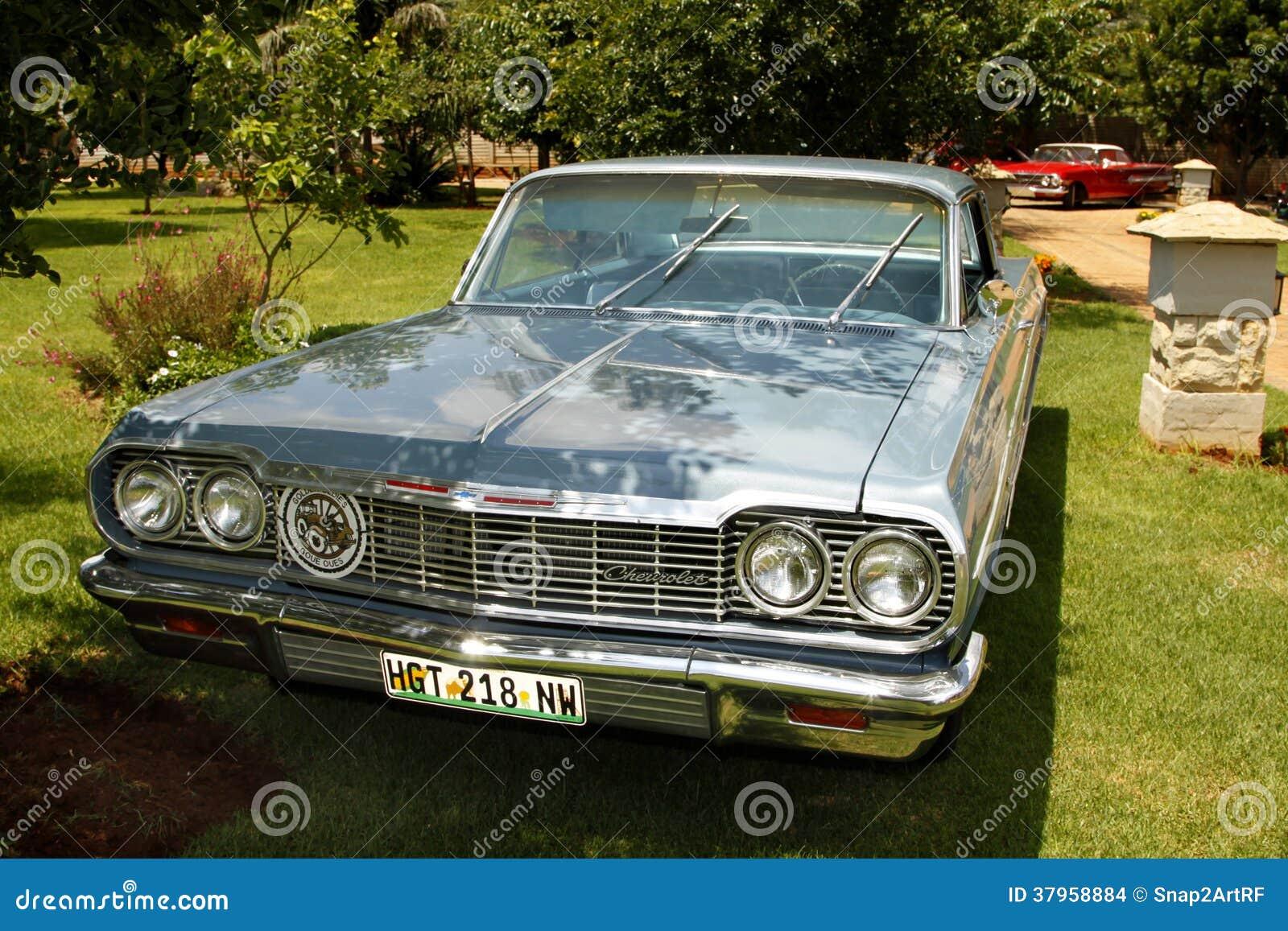 Used 2014 Chevy Impala >> Vintage Car 1964 Chevrolet Impala Coupe Editorial Stock Image - Image: 37958884