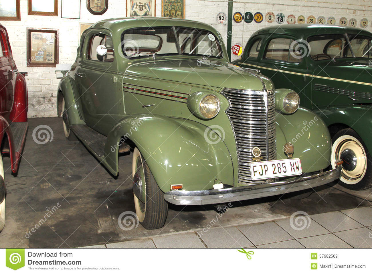 Vintage Car 1938 Chevrolet Coupe Editorial Stock Image Image 37982509