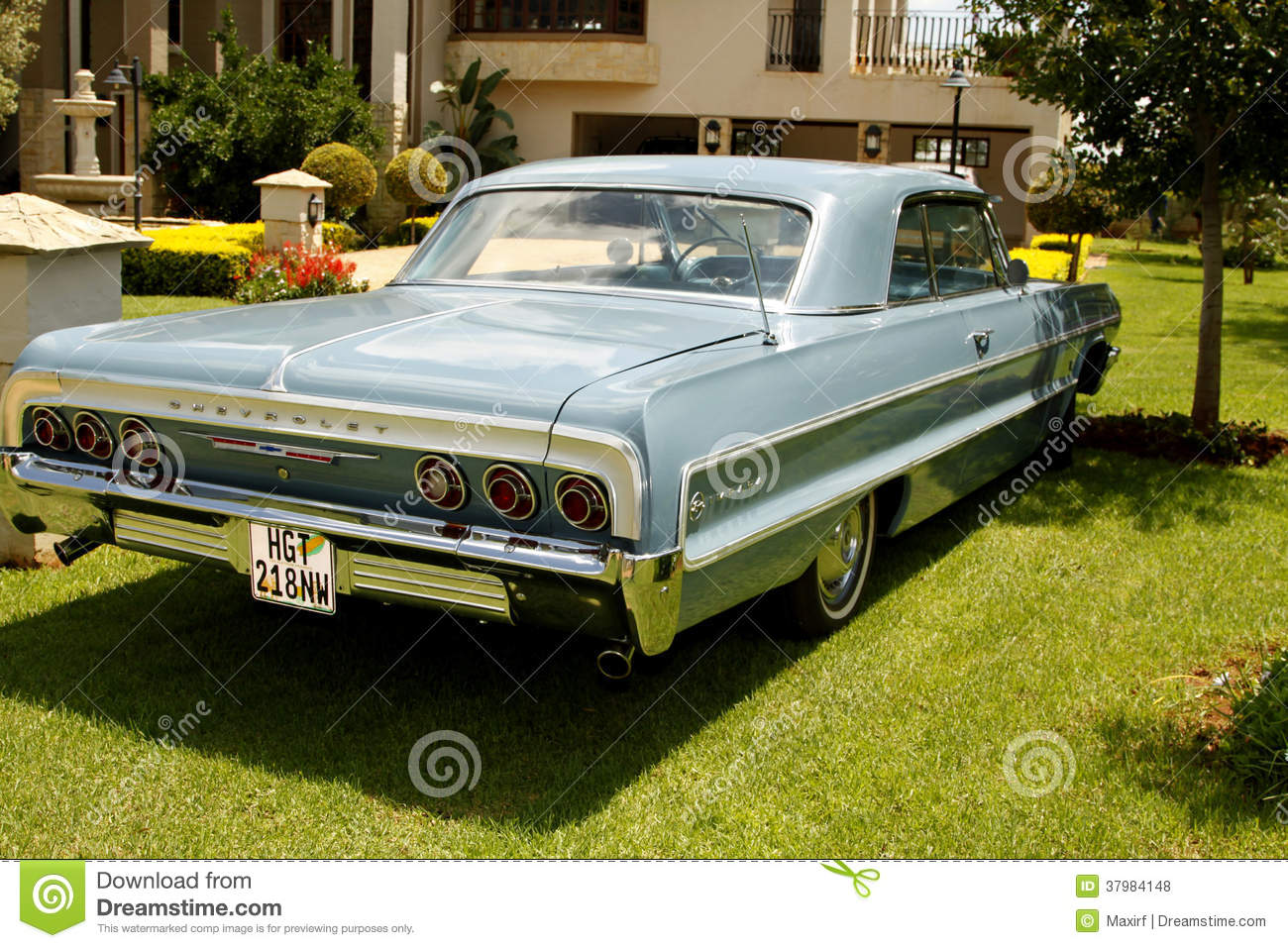 Used 2014 Chevy Impala >> Vintage Car 1964 Chevrolet Impala Coupe Editorial Stock Photo - Image: 37984148
