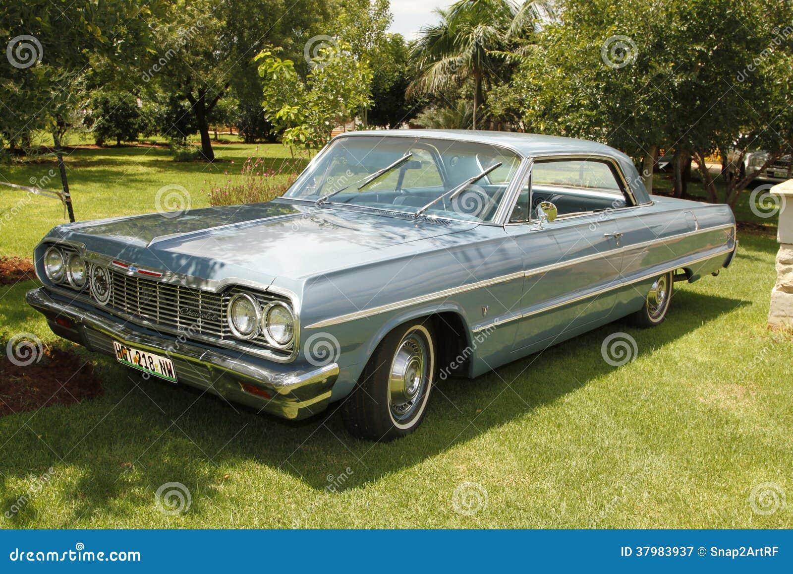 Vintage Car 1964 Chevrolet Impala Coupe Editorial ...