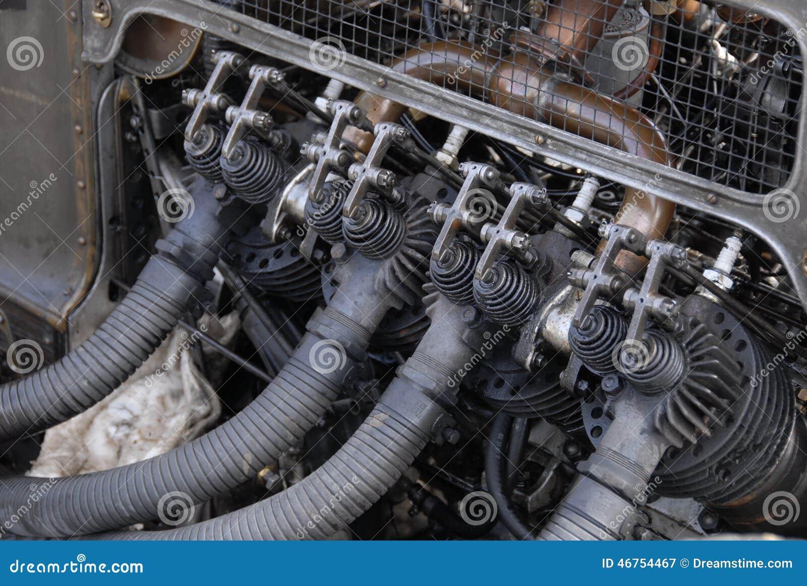 Vintage Car Engine stock image. Image of engine, taken - 46754467