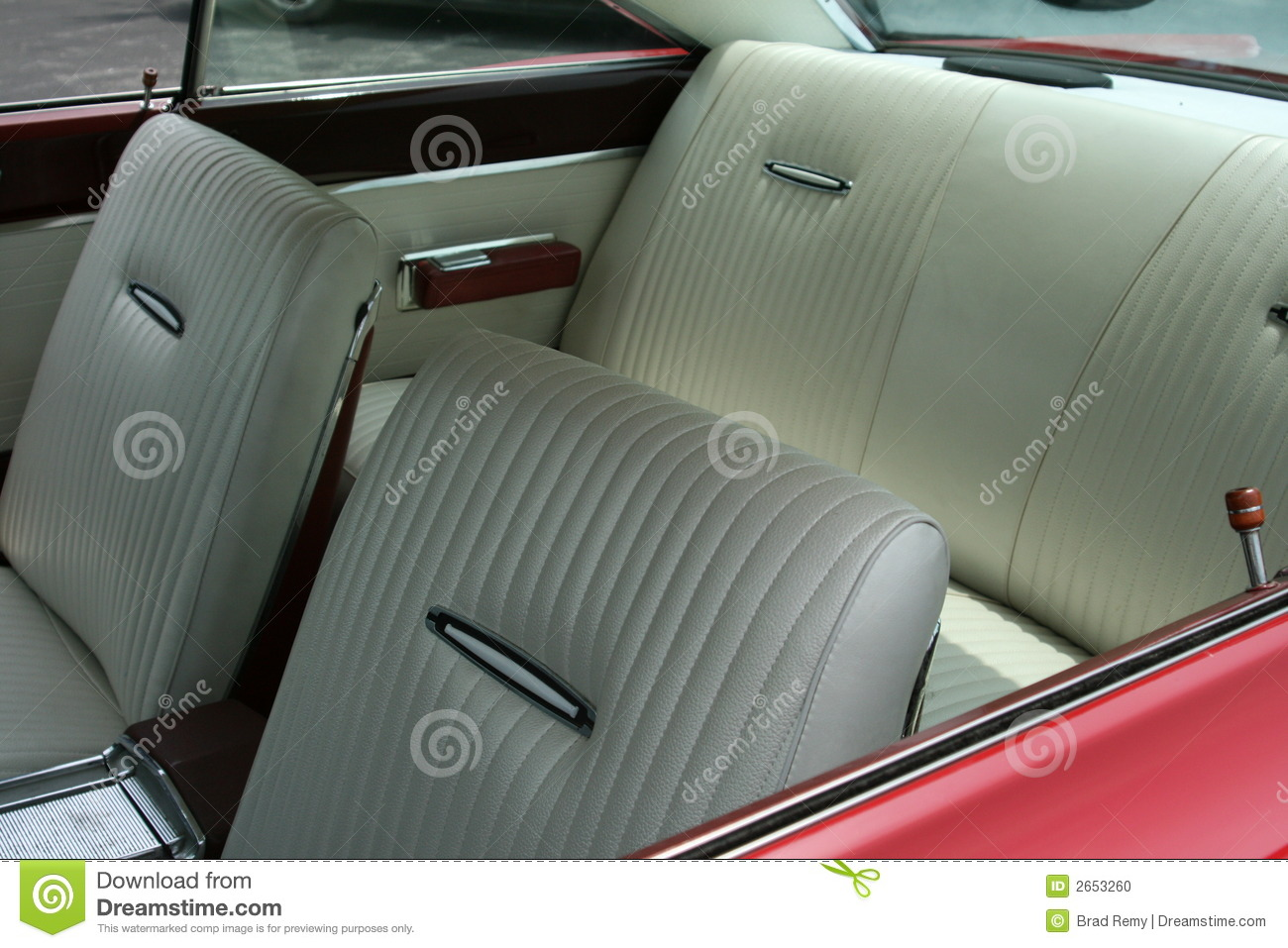 vintage car interior stock photo image 2653260. Black Bedroom Furniture Sets. Home Design Ideas
