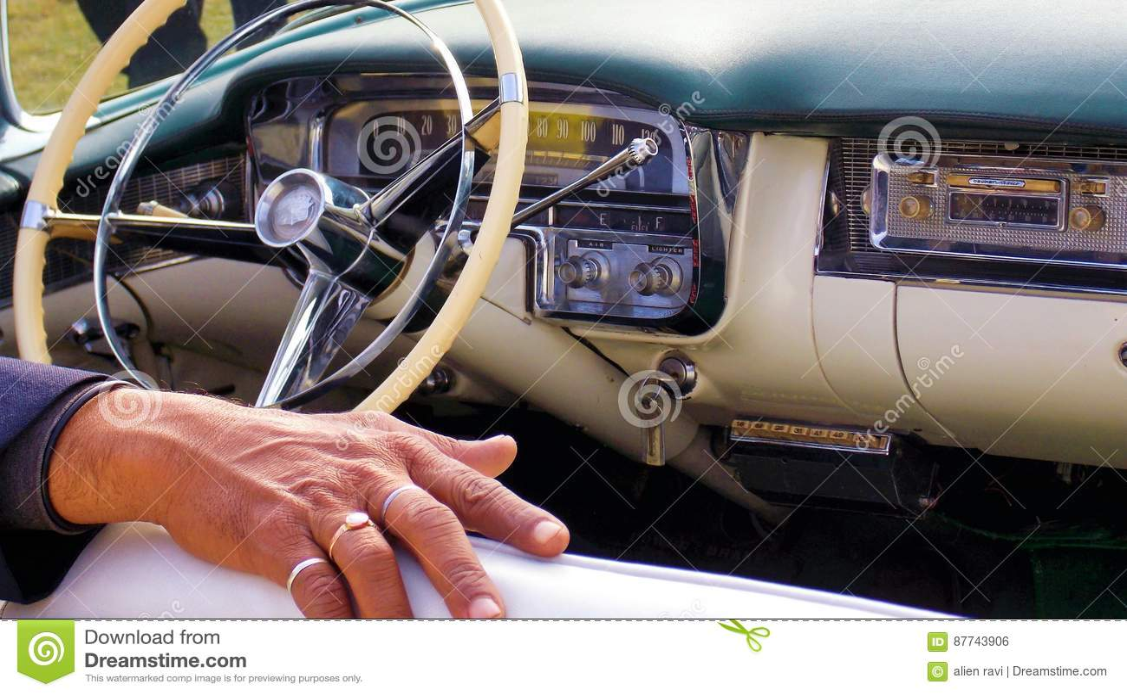 Vintage Car Interior Editorial Photo Image Of Royal 87743906