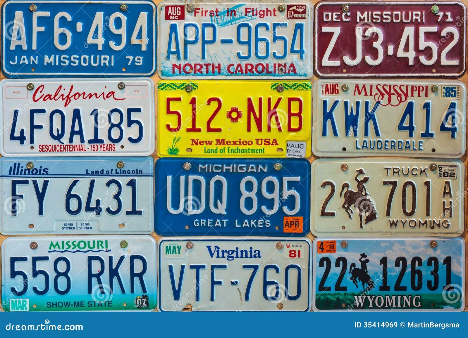 Car Vintage Plates How Old