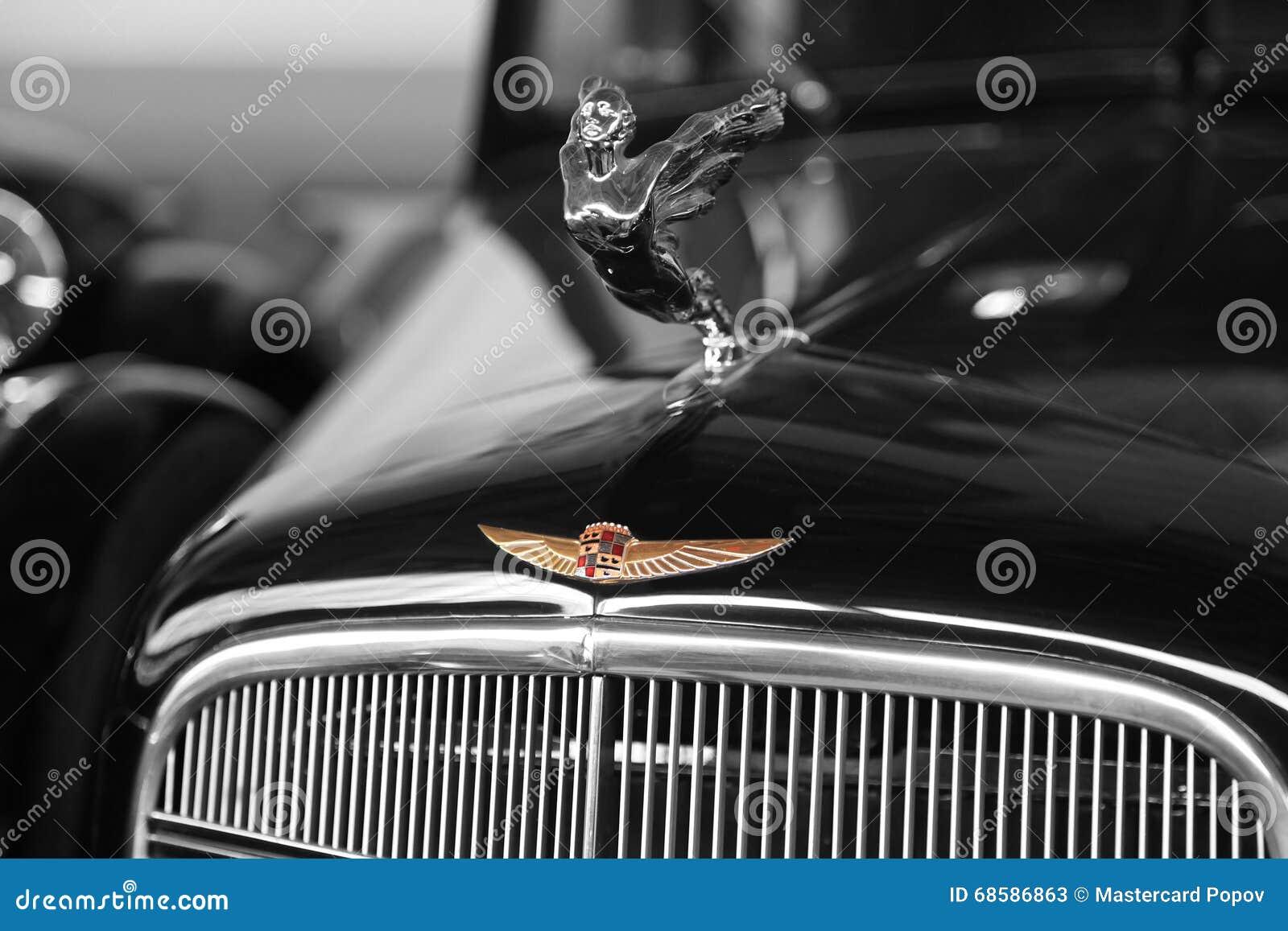 Vintage Car Logo Editorial Stock Photo Image Of Details 68586863