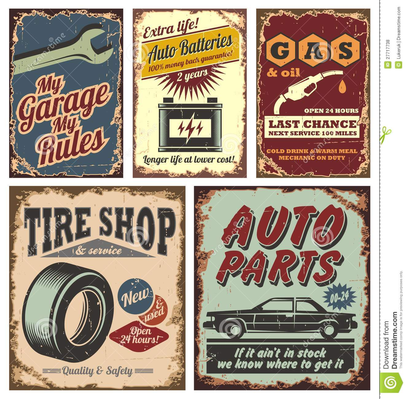 Old Fashioned Decals
