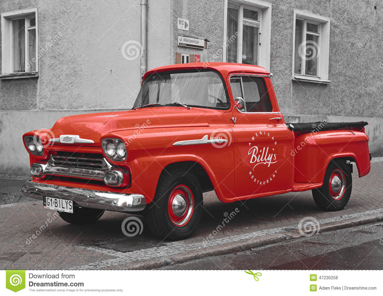 Classic American Pick Up Car Editorial Stock Photo Image
