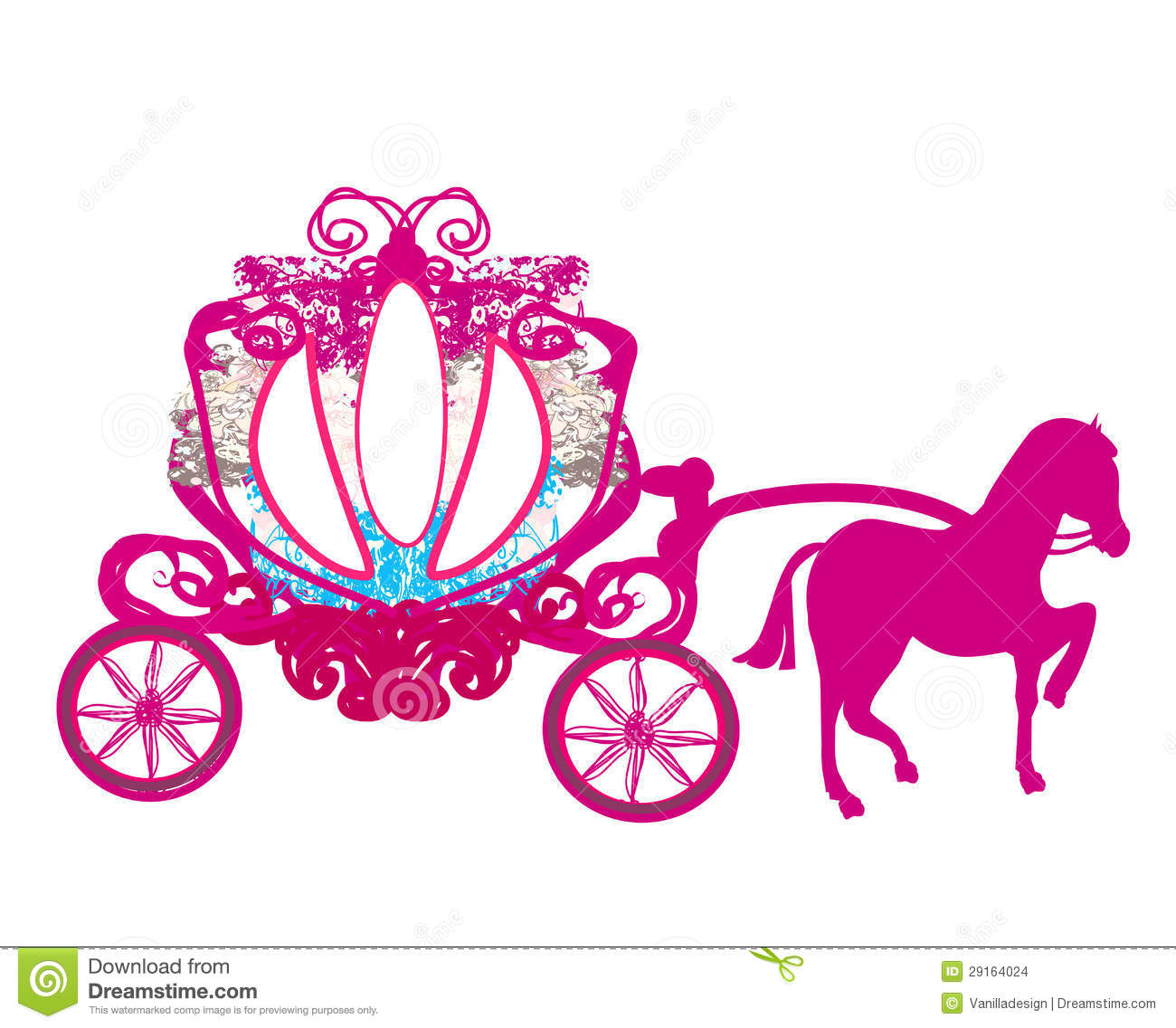 Cinderella's Carriage Stock Illustrations – 205 Cinderella's ...