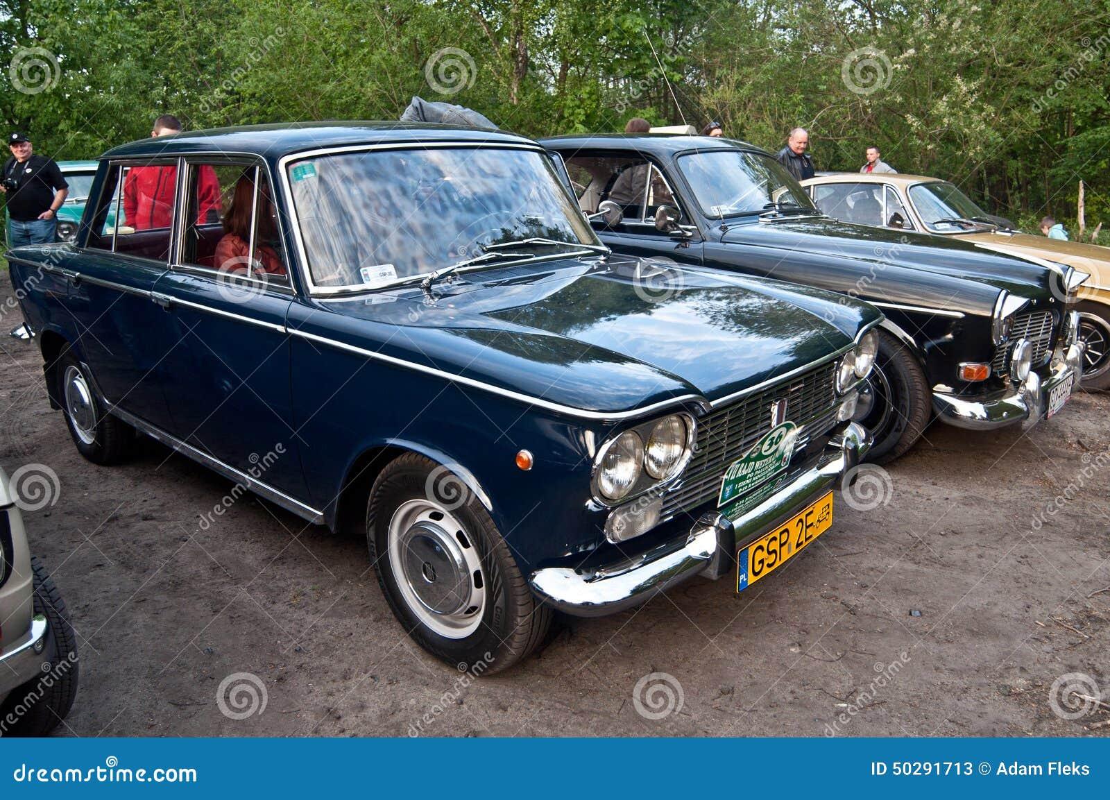 Classic Italian Fiat Car At A Car Show Editorial Stock Photo Image - Italian car show