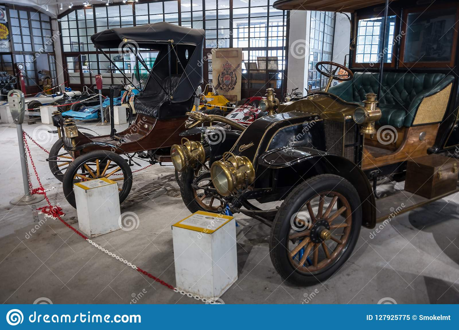 Vintage cars from the exceptional collection of Bratislav Petkovic, Belgrade, Serbia