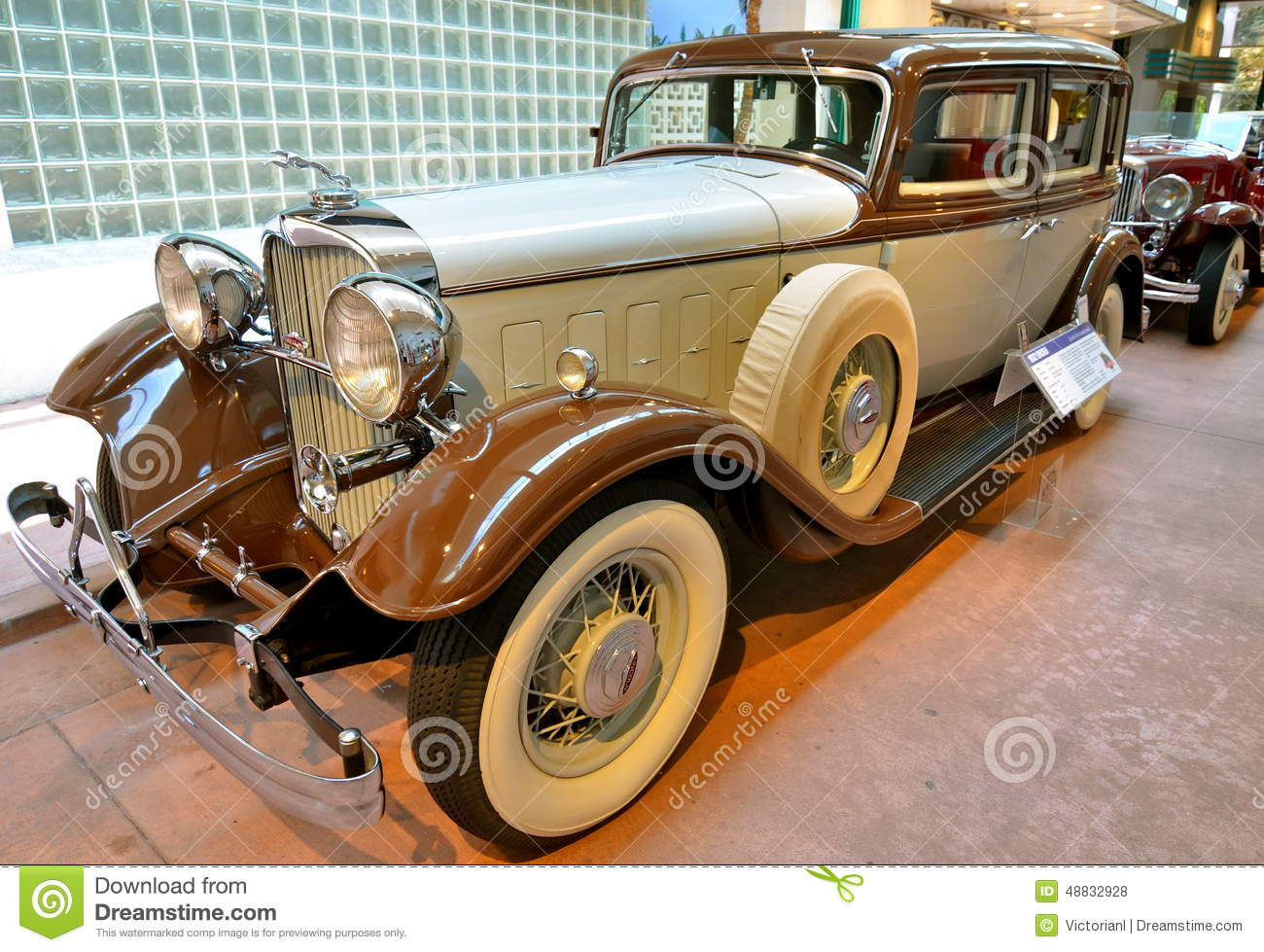 Vintage Cars In The National Automobile Museum, Reno, Nevada ...