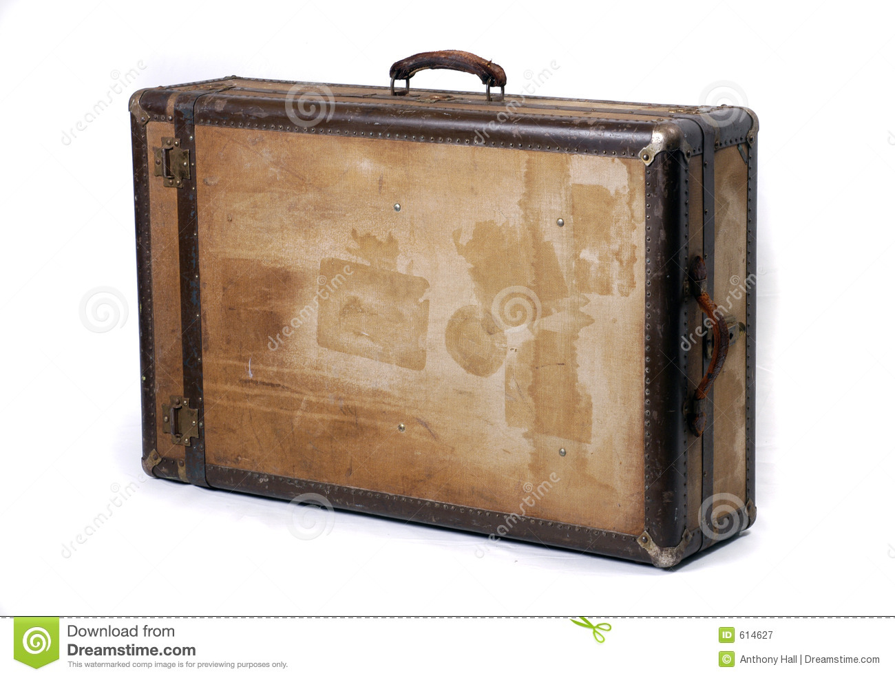 Vintage Case Steamer Trunk Royalty Free Stock Photography - Image ...