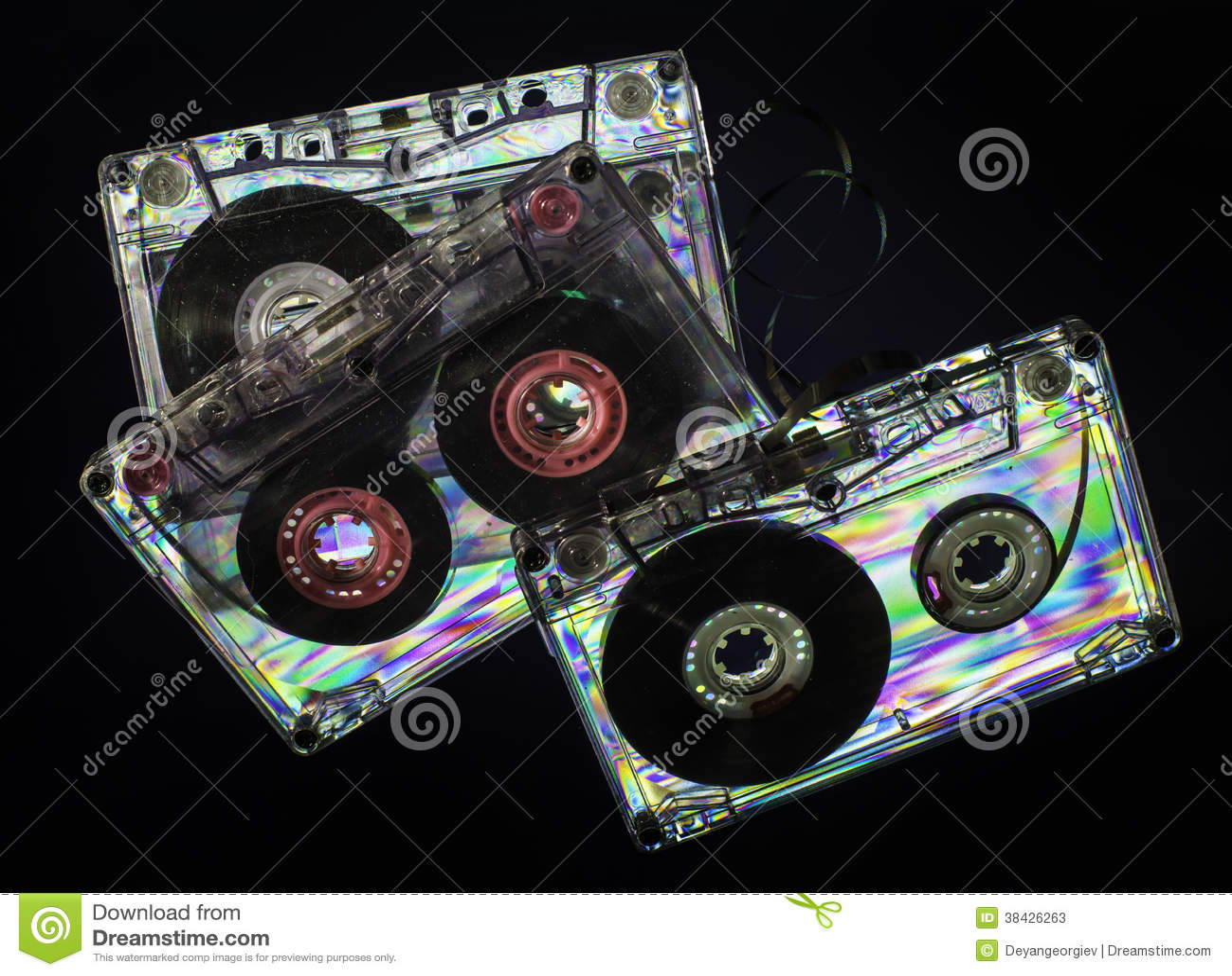 More vintage cassette tapes