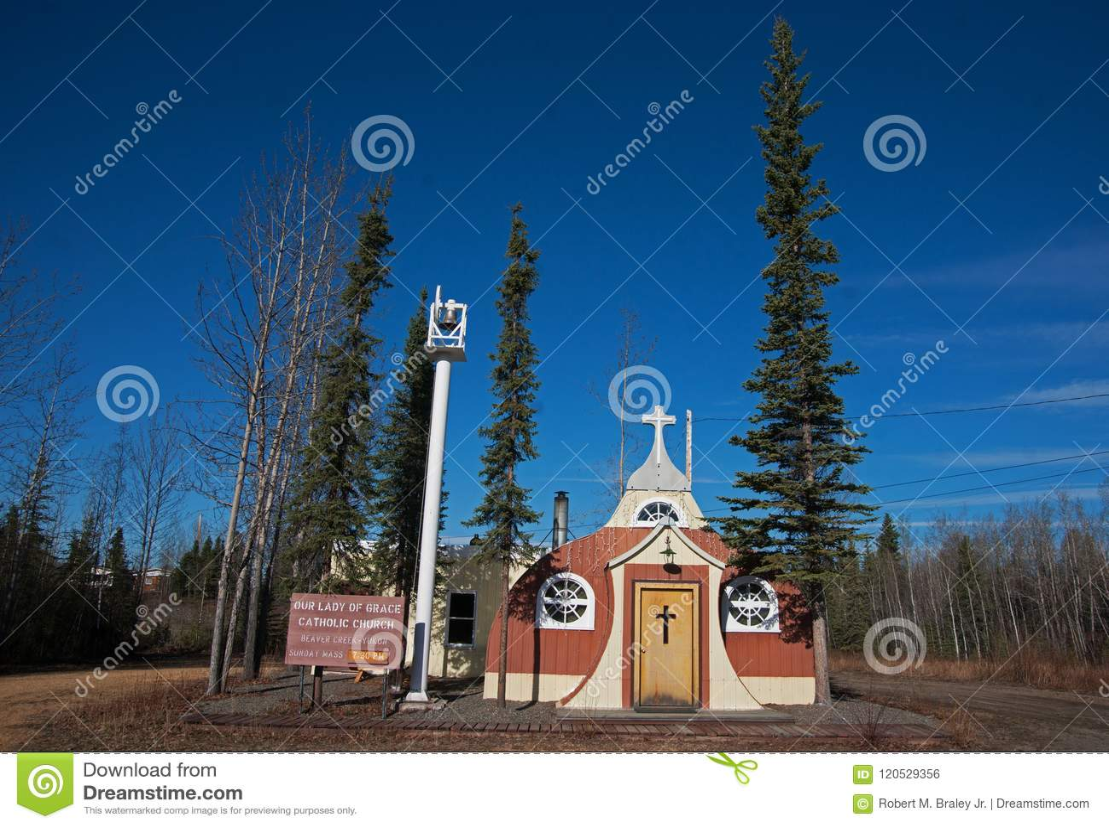 Vintage Catholic Church Beaver Creek Canada